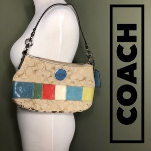 Authentic Coach hobo purse.
